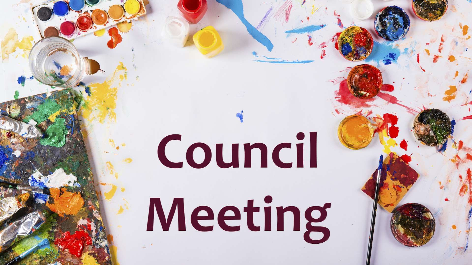 A Council meeting