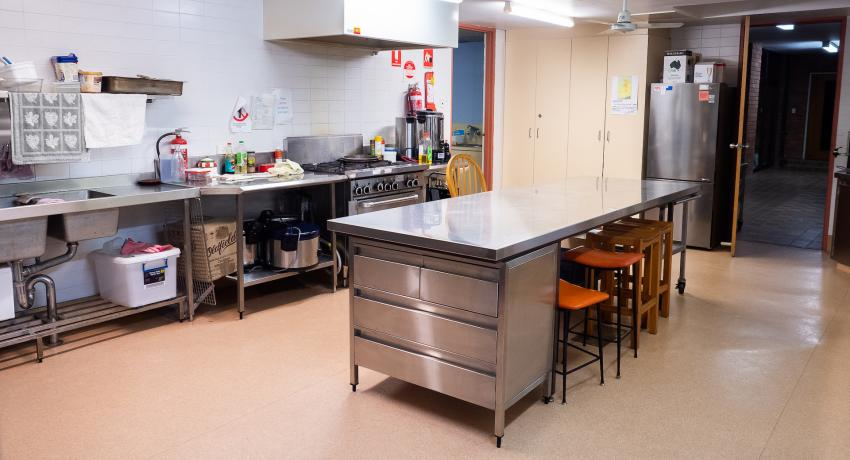 Picture of the kitchen at Gordon uniting