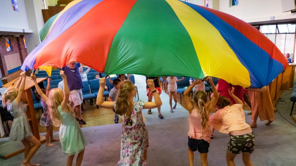 Parachute and Messy Church