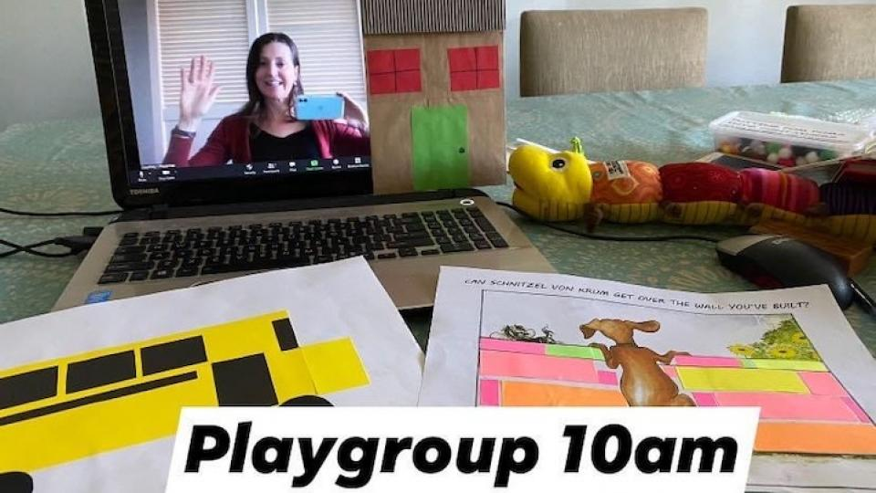 picture of Playgroup on Zoom