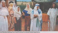 Picture from the North Shore Times of Easter Experience Cast