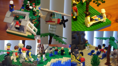 Activities of our church in lego