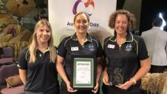 Award winners in Griffith